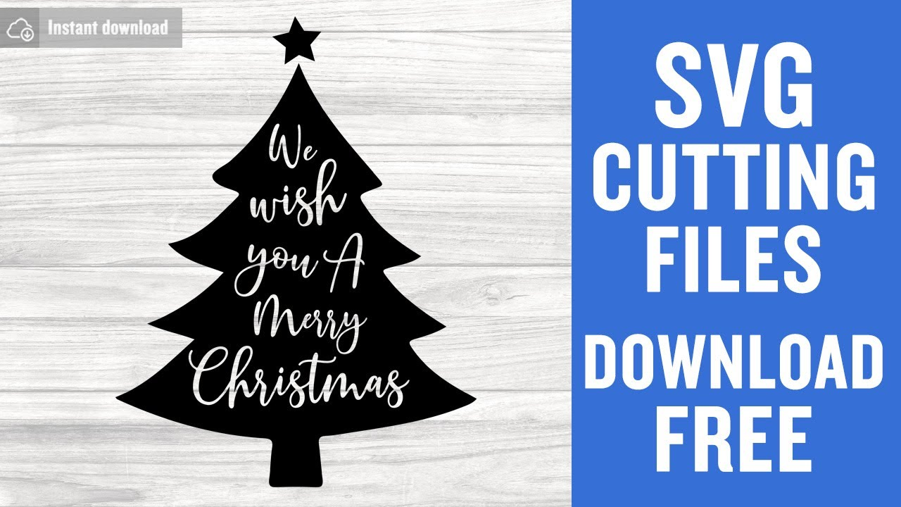 Download Christmas Tree SVG Free Cutting Files for Cricut Scan n ...