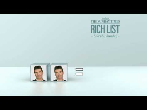 The Sunday Times Rich List 2010 - Cowell