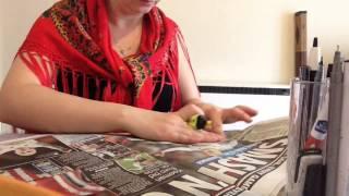 ASMR: Newspaper, Turning page,(no talking )/АСМР Шелест страниц газет