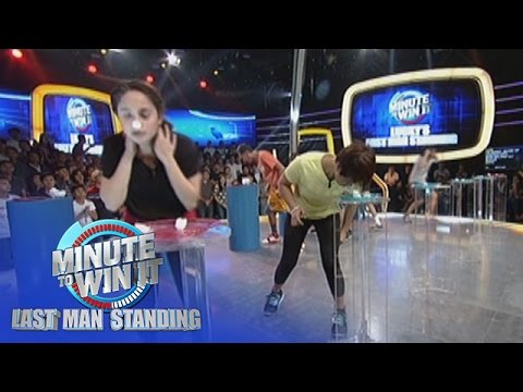 Nose Dive | Minute To Win It - Last Man Standing