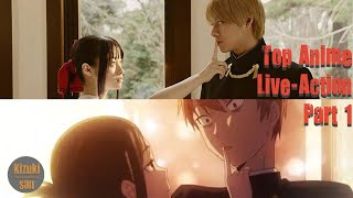 Top 20 Anime Live-Action Movie