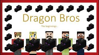 Dragon Bros (Hermitcraft Season 6 Grian, Iskall, Mumbo, False, bdubs)