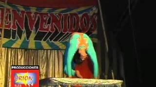 yahayra lopez contorcionista peruana demustra un buen arte diana lopez orion tv
