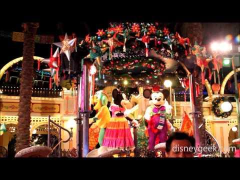 DCA: Viva Navidad! Street Party Clips (2014)