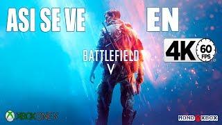 [4K] Asi se ve la campaña de Battlefield V en Xbox One X a 4K y 60fps |MondoXbox