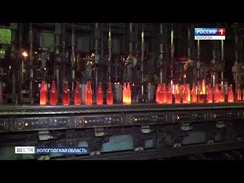 В Чагодощенском районе вновь заработает завод по производству стеклотары
