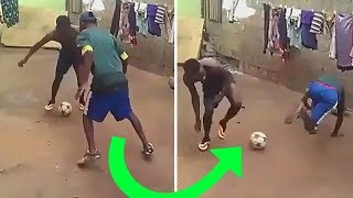 REAL Street Football In The Rain- Funny Dribbling Skills/Freestyle/Goals/Best Soccer