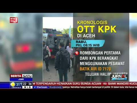 Kronologis Penangkapan Gubernur Aceh Irwandi Yusuf