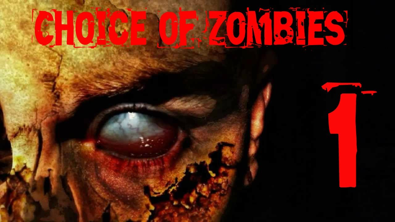 let s play choice of zombies part 1 text based game omg zombies