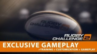 Rugby Challenge 2 - EXCLUSIVE GAMEPLAY - New Moves, Customization and Gameplay