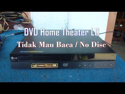 Memperbaiki DVD Home Theater LG Rusak Tidak Mau Baca - No Disc
