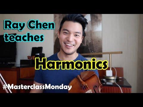 Masterclass Monday: Ray Chen Teaches Harmonics