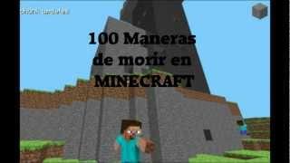 100 maneras de morir en Minecraft | Parte 2