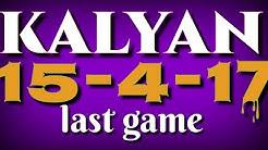 kalyan shanivar 15/04/17 fix today