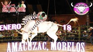 AMACUZAC, MORELOS === LOS DESTRUCTORES === 3 CUADRLLAS DE JINETES NIÑOS DE LA SIERRA, A