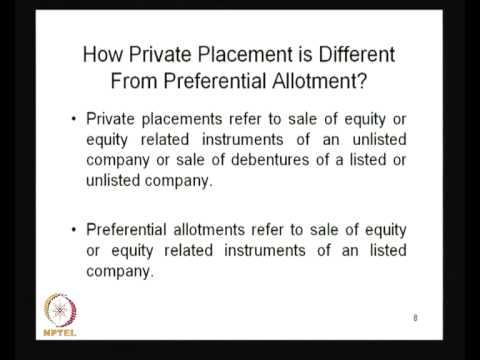 Mod-01 Lec-02 Markets for Investment