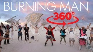 VR Burning Man experience, speed through a canyon on a longboard thumbnail