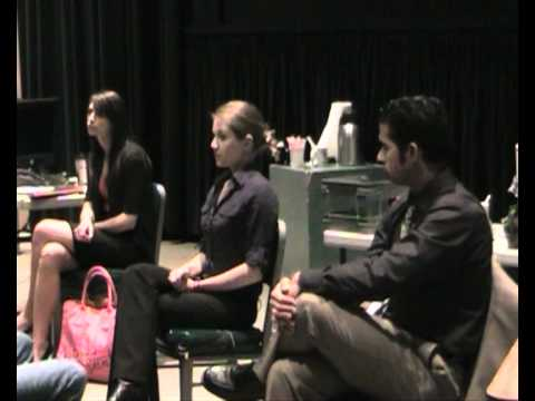 """""""Kind Words Part 1"""" Interactive Theater skit, UC Berkeley Pacific Film Archive"""