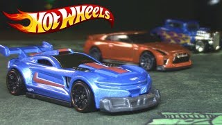 HOT WHEELS - Track ripper, 32 Ford, 17 Nissan GT-R