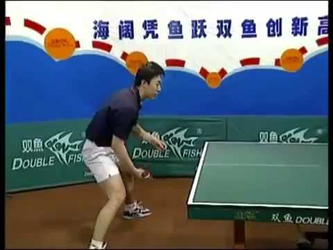 Liu Guoliang, Ma Lin & Yan Sen Reverse Penhold Backhand Loop Technique