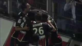 OGC Nice - Lyon (2009-2010)
