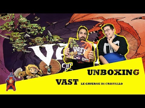 VAST: Le Caverne di Cristallo - [Unboxing] - The Rolling Gamers