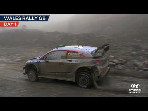 Wales Rally GB Day One - Hyundai Motorsport 2018