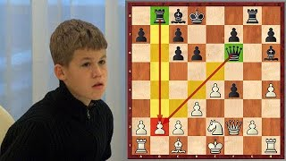 The Day Magnus Carlsen Became World's Youngest Grandmaster (at the time)