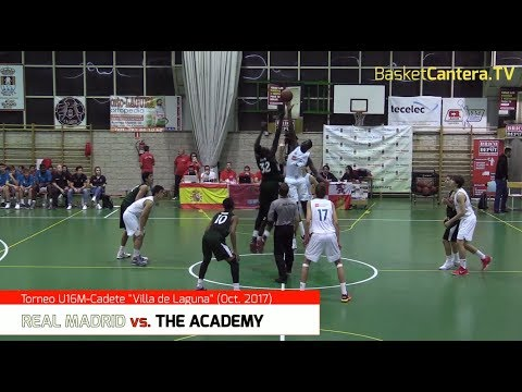 U16M - REAL MADRID vs. THE ACADEMY.- Torneo Cadete