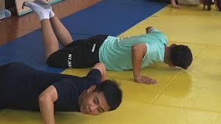 Урок самообороны провели для студентов из КНР в ДЮСШ Биробиджана(РИА Биробиджан)