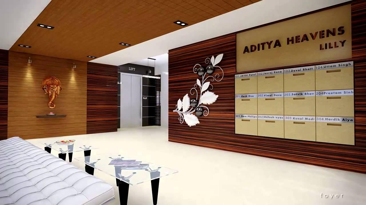 aditya heavens luxurious flats in ahmedabad you must see walk