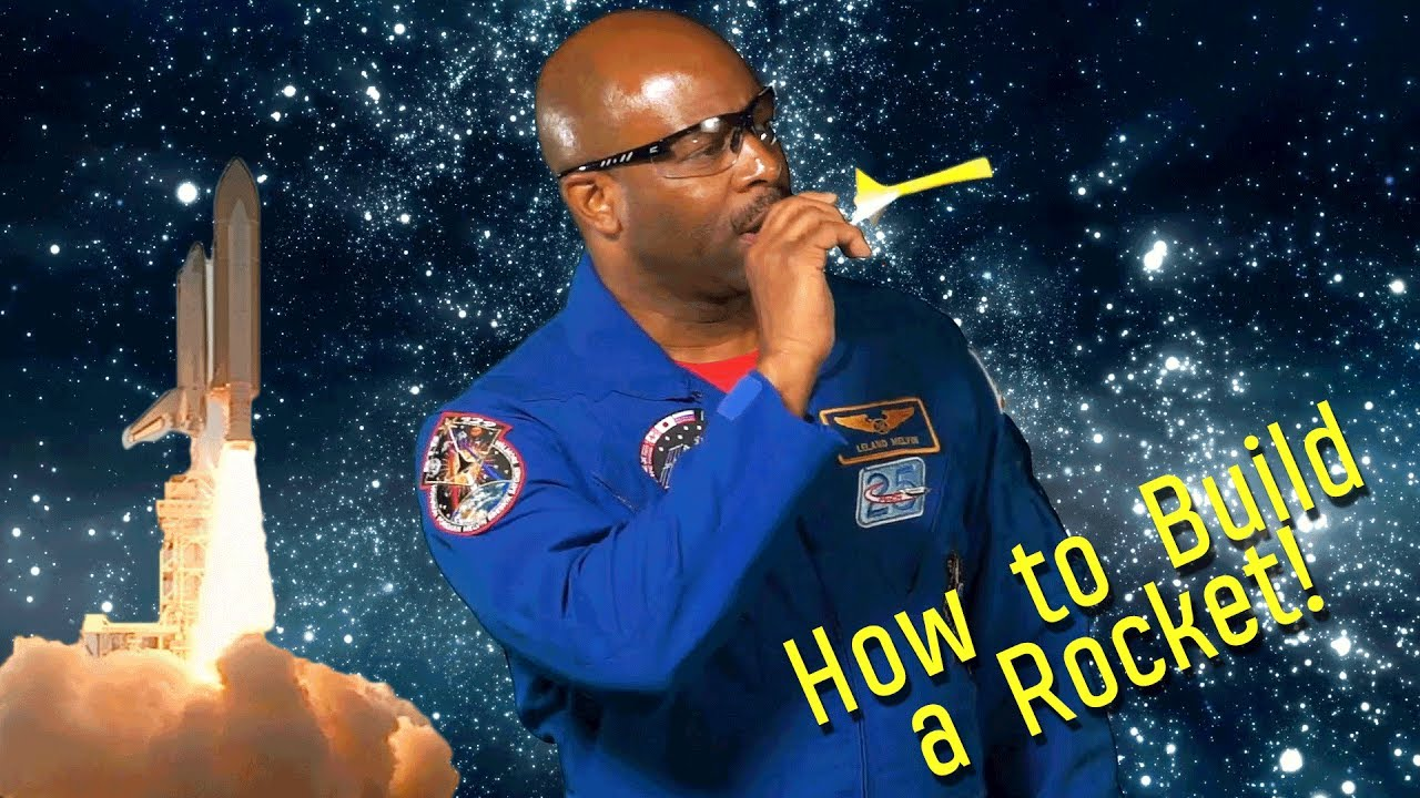 #TodayILearned: How to Build a Paper Rocket! | CHASING SPACE by Astronaut Leland Melvin