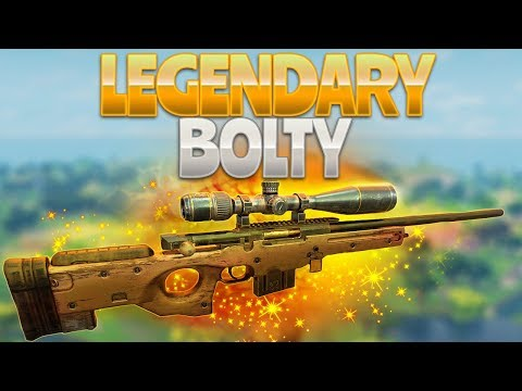 LEGENDARY BOLTY! (Fortnite Battle Royale)