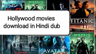 How to download Hollywood dubbed movies!how to download  dual audio movies! movie download in Hindi