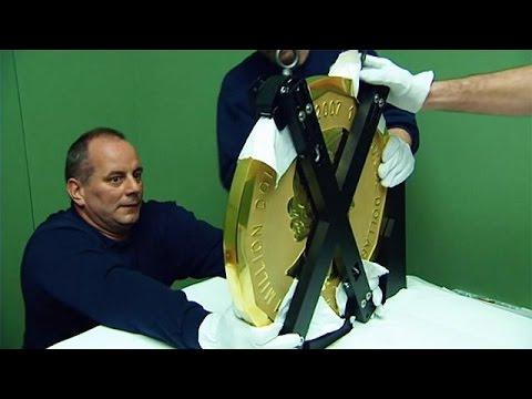 Spektakulärer Goldraub 100 Kilogramm Münze Aus Bode Museum Geklaut