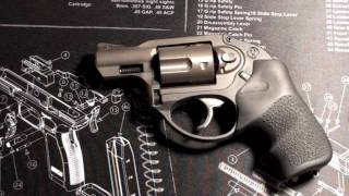 How to modify the front ramp sight on the Ruger LCR