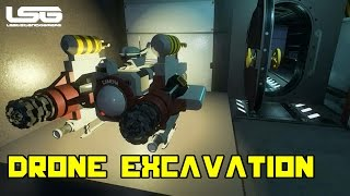 Space Engineers - Drone Excavation System