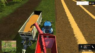 Farming Simulator 15 - Harvesting Wheat and Barley - Westbridge Hills