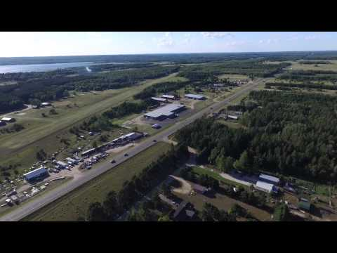American Legion Post 368, Backus, Mn - Ball Field, Grounds & Surround - Phantom 3 -