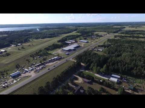 American Legion Post 368, Backus, Mn - Ball Field, Grounds & Surround - Phantom 3 -