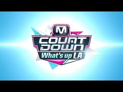 Live! Mcountdown What's up LA!