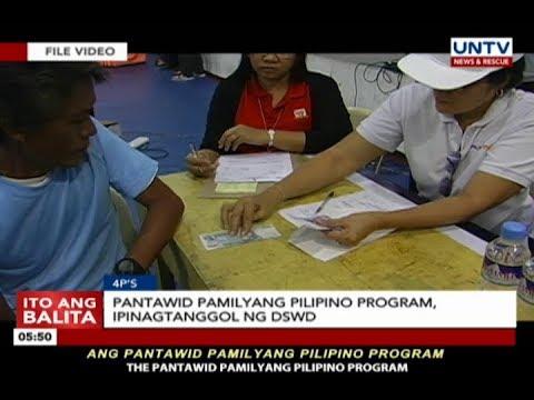 Pantawid Pamilyang Pilipino Program, ipinagtanggol ng DSWD