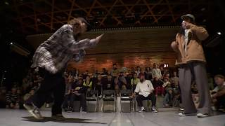 KYOKA vs KYOGO @ HIPHOP FOREVER JAPAN 2018 SEMI-FINAL BATTLE