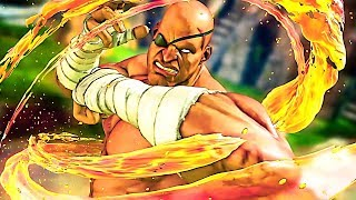 STREET FIGHTER 5: Sagat Gameplay Trailer (2018) PS4 / PC