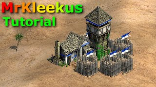 age of empires ii how to trush a tower rush tutorial