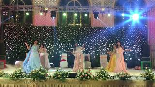 Tareefa, ladies sangeet dance, choreograph. by RONY HOSS