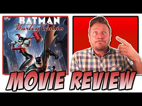 Batman and Harley Quinn (2017) - Movie Review (DC Animated Universe from Bruce Timm)