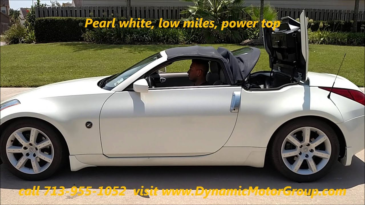 2004 nissan 350z convertible - youtube