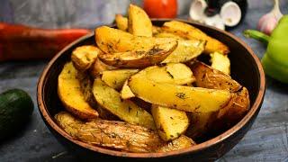 Картофель по деревенски Лучший рецепт приготовления картошки в духовке