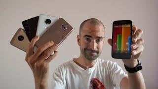 Unboxing EVERY Motorola Moto G Smartphone   10 Generations Retrospective